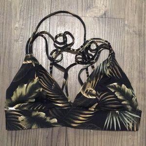 Victoria Secret PINK jungle bathing suit top S